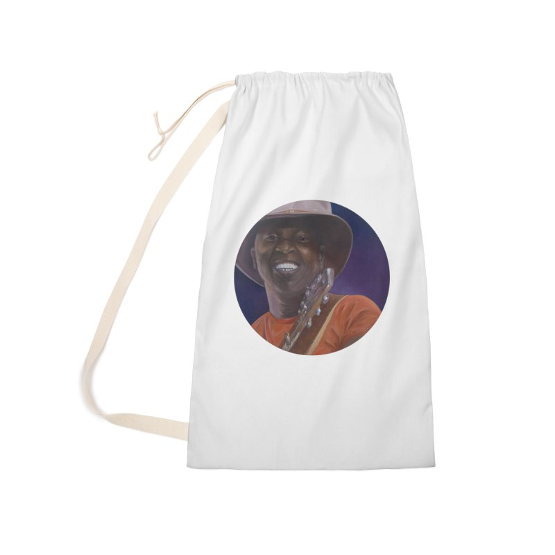 Ali Farka Toure Accessories Laundry Bag Bag by mybadart's Artist Shop