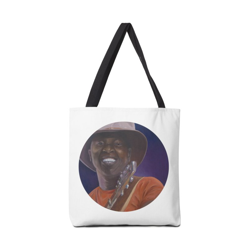 Ali Farka Toure Accessories Bag by mybadart's Artist Shop
