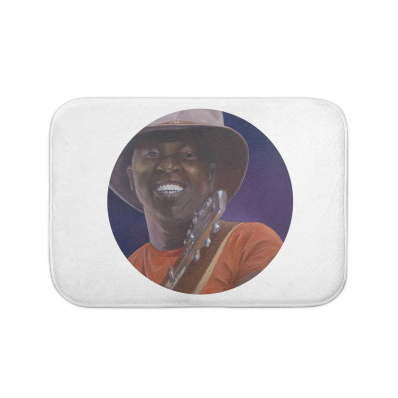Ali Farka Toure Home Bath Mat by mybadart's Artist Shop