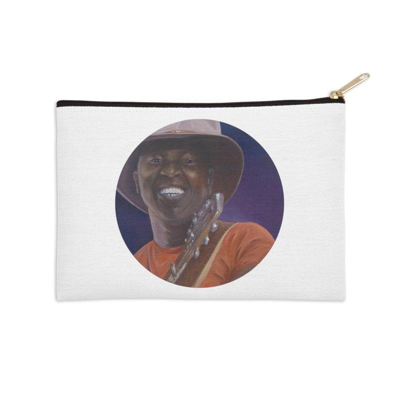 Ali Farka Toure Accessories Zip Pouch by mybadart's Artist Shop