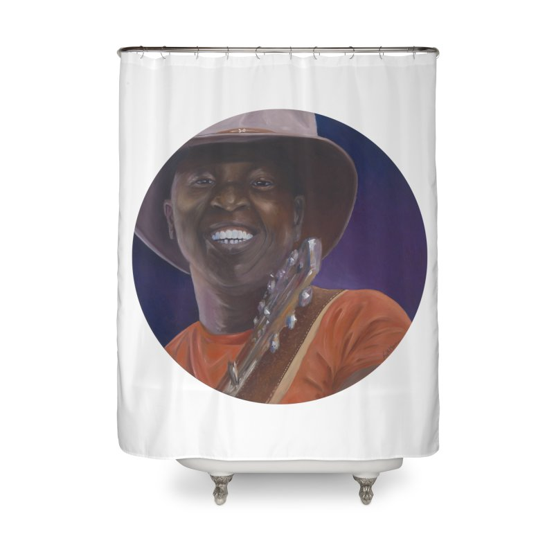 Ali Farka Toure Home Shower Curtain by mybadart's Artist Shop