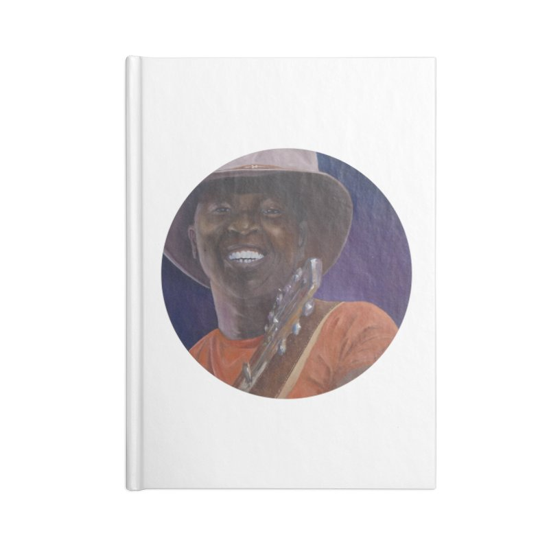 Ali Farka Toure Accessories Lined Journal Notebook by mybadart's Artist Shop