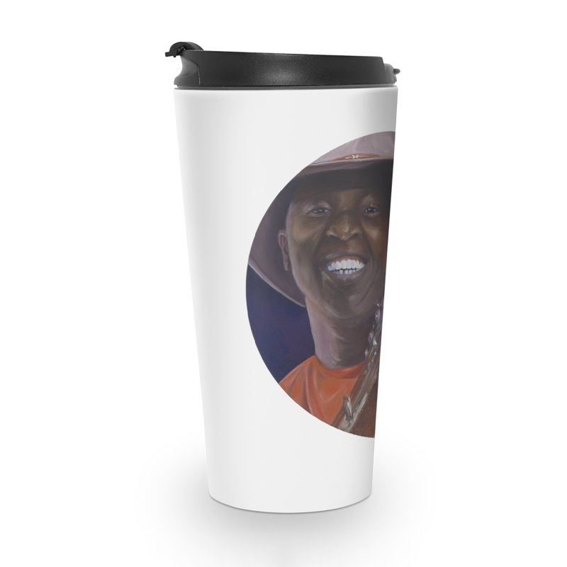 Ali Farka Toure Accessories Travel Mug by mybadart's Artist Shop