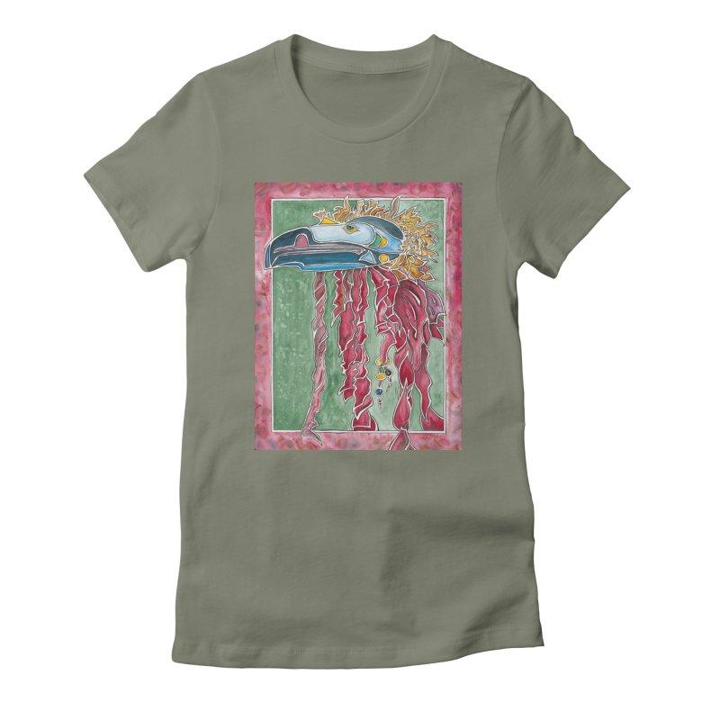Not a Seahawk Women's T-Shirt by mybadart's Artist Shop