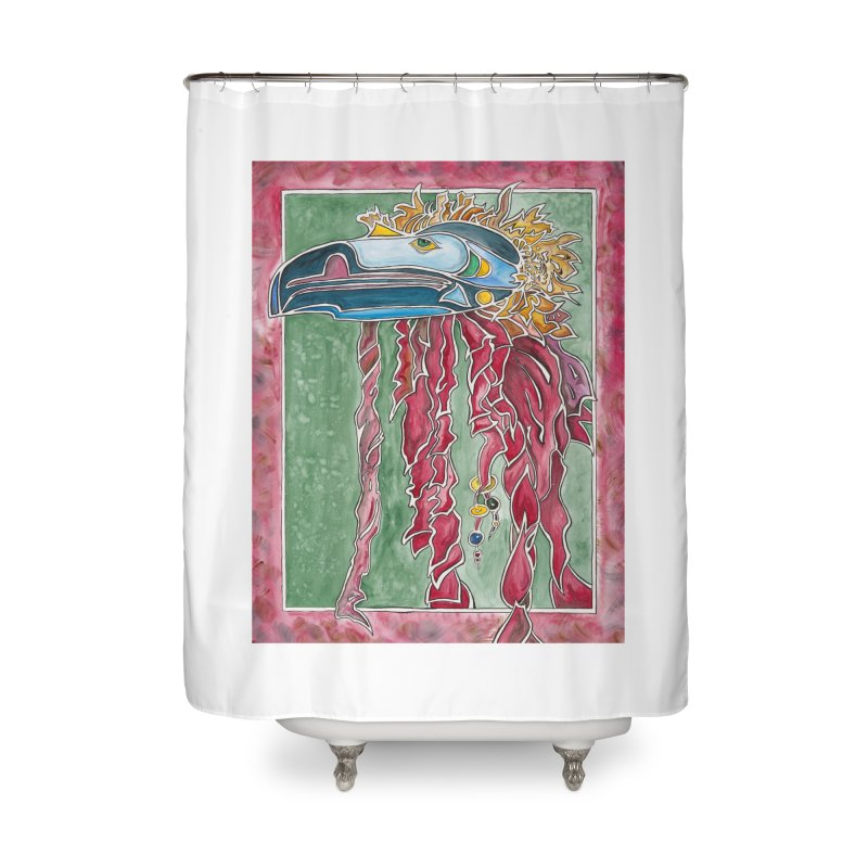 Not a Seahawk Home Shower Curtain by mybadart's Artist Shop