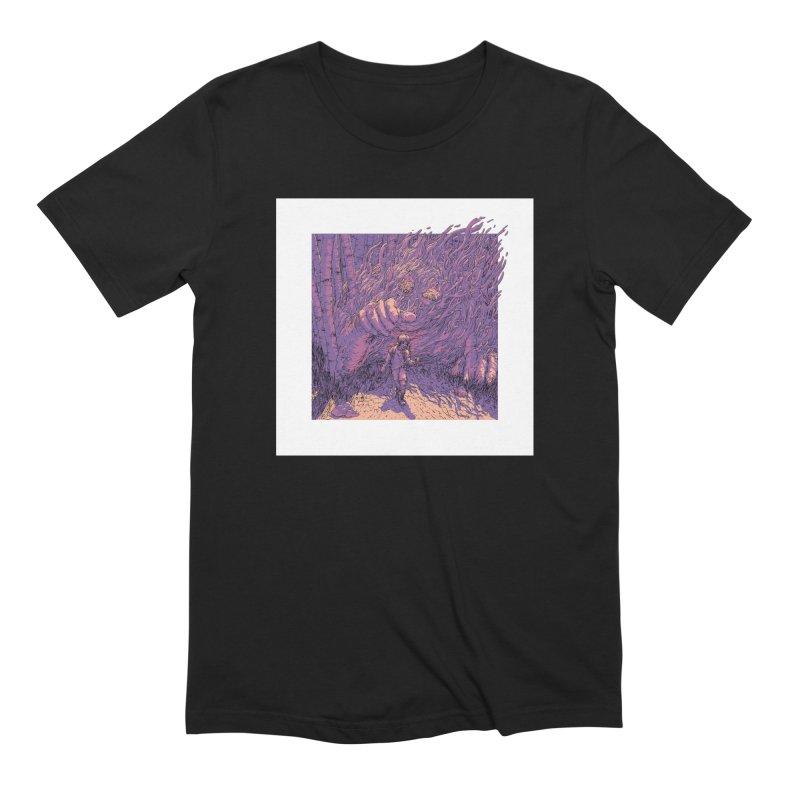 Afraid (Black) Men's T-Shirt by My Body Sings Electric Merch | Shop Men, Women, an