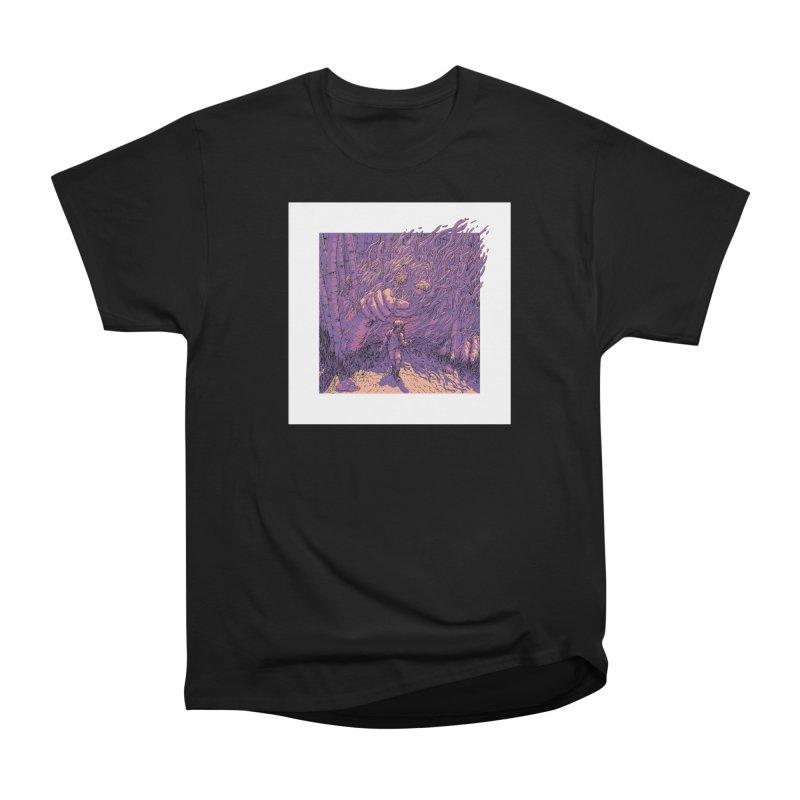 Afraid (Black) Men's Heavyweight T-Shirt by My Body Sings Electric Merch | Shop Men, Women, an