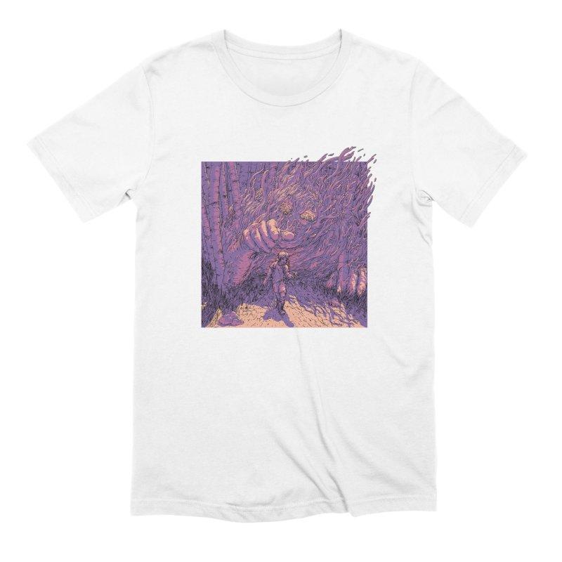 Afraid (White) Men's T-Shirt by My Body Sings Electric Merch | Shop Men, Women, an