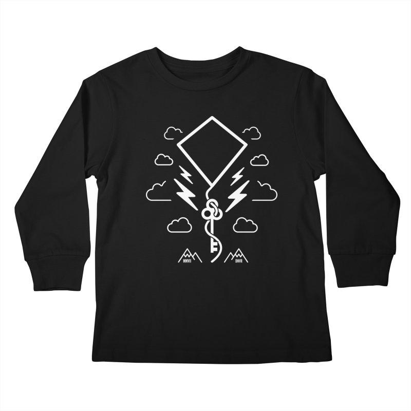 Mile High Flyer (White) Kids Longsleeve T-Shirt by My Body Sings Electric Merch | Shop Men, Women, an