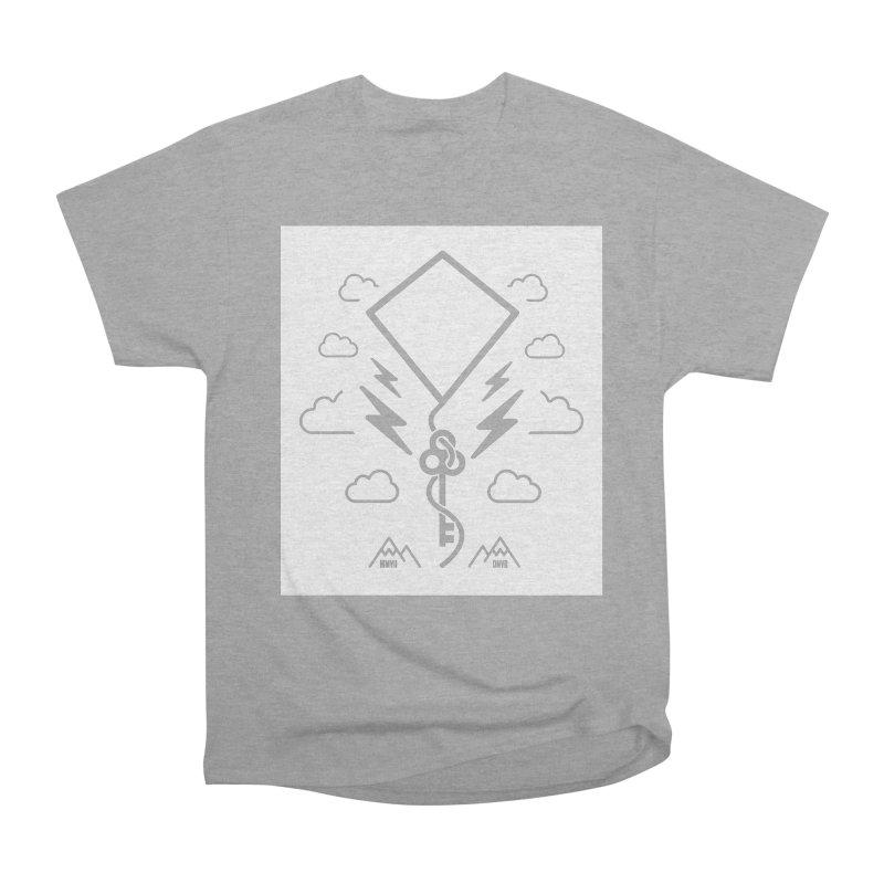 Mile High Flyer (Block) Women's Heavyweight Unisex T-Shirt by My Body Sings Electric Merch | Shop Men, Women, an