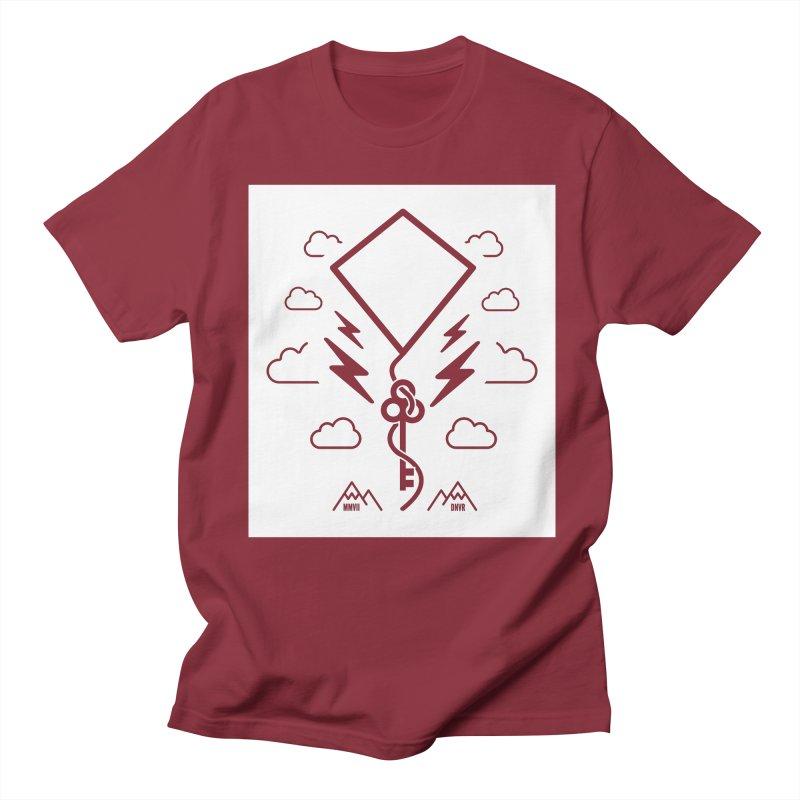 Mile High Flyer (Block) Men's Regular T-Shirt by My Body Sings Electric Merch | Shop Men, Women, an