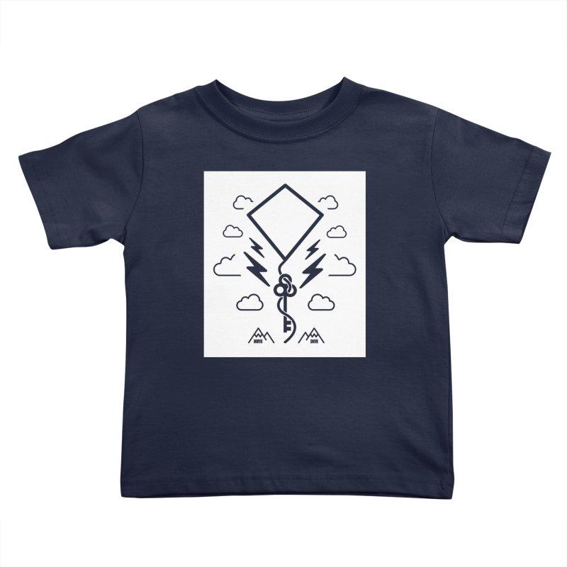 Mile High Flyer (Block) Kids Toddler T-Shirt by My Body Sings Electric Merch | Shop Men, Women, an