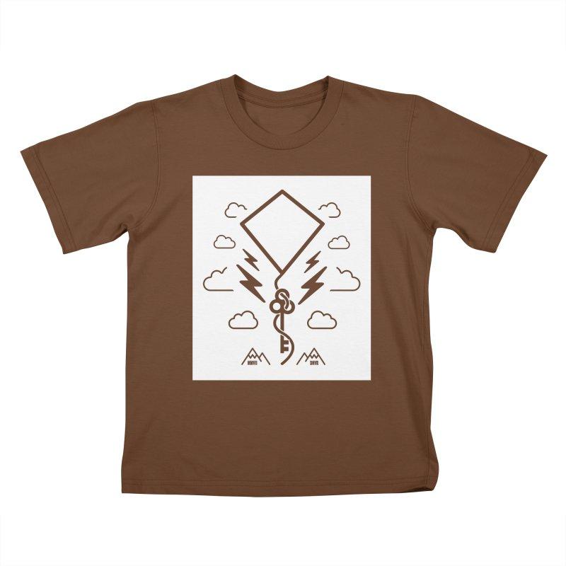 Mile High Flyer (Block) Kids T-Shirt by My Body Sings Electric Merch   Shop Men, Women, an