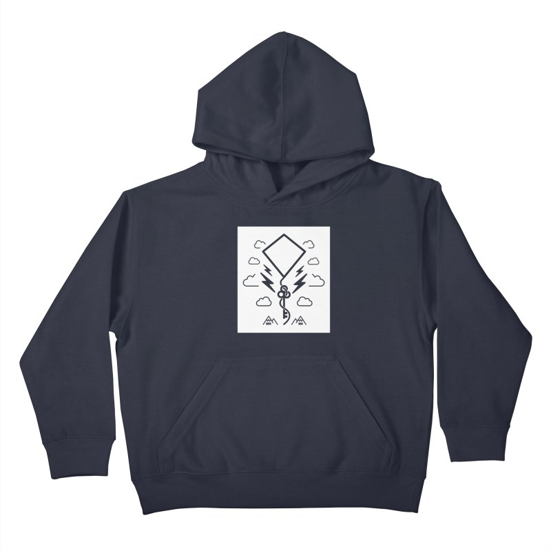 Mile High Flyer (Block) Kids Pullover Hoody by My Body Sings Electric Merch | Shop Men, Women, an