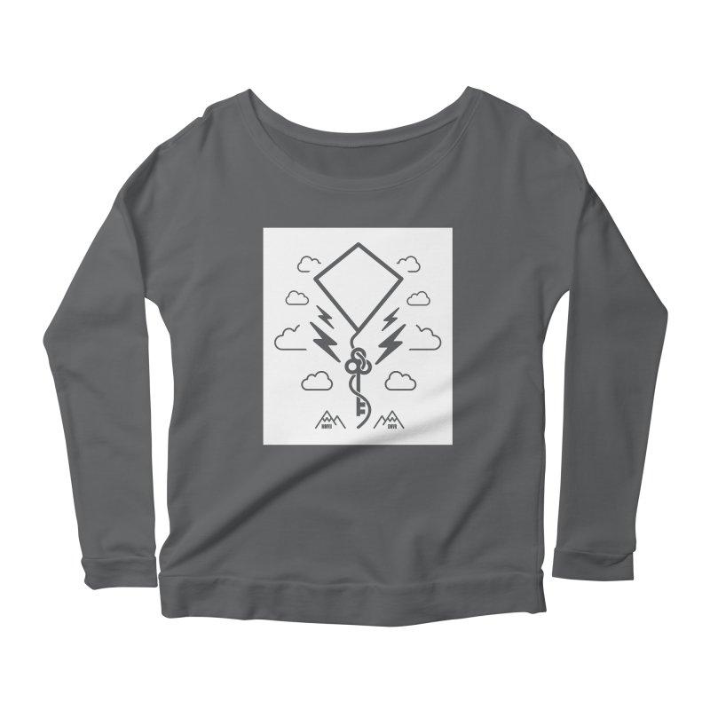 Mile High Flyer (Block) Women's Scoop Neck Longsleeve T-Shirt by My Body Sings Electric Merch   Shop Men, Women, an