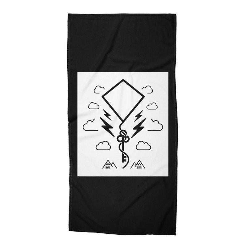 Mile High Flyer (Block) Accessories Beach Towel by My Body Sings Electric Merch | Shop Men, Women, an