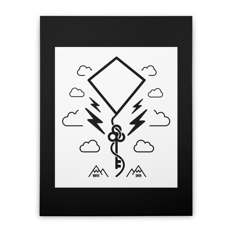 Mile High Flyer (Block) Home Stretched Canvas by My Body Sings Electric Merch   Shop Men, Women, an