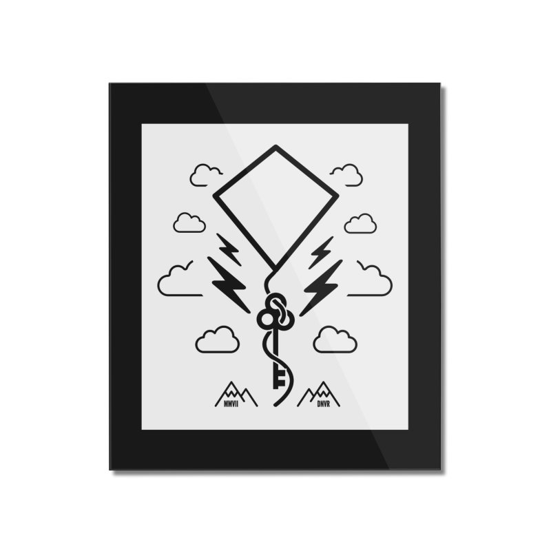Mile High Flyer (Block) Home Mounted Acrylic Print by My Body Sings Electric Merch | Shop Men, Women, an
