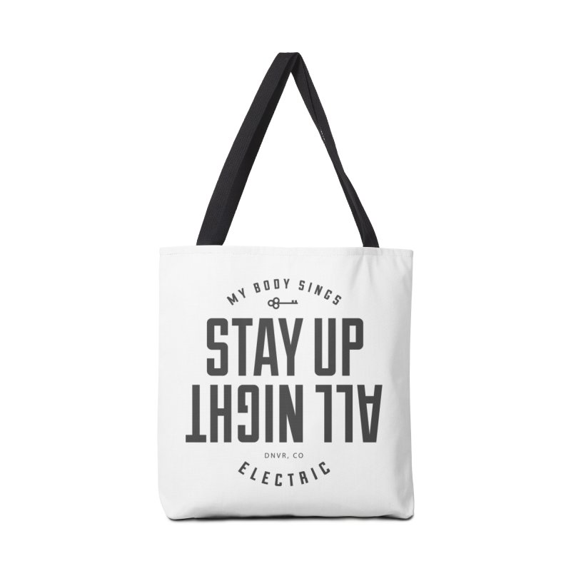 Up All Night (Black) Accessories Bag by My Body Sings Electric Merch | Shop Men, Women, an