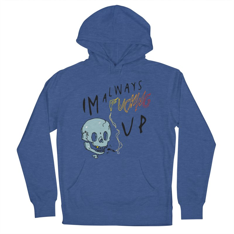 Effed Up Men's French Terry Pullover Hoody by My Body Sings Electric Merch | Shop Men, Women, an
