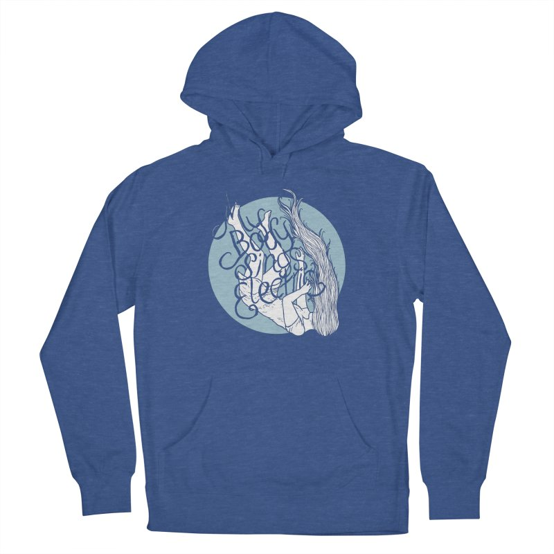 Falling For You (Blue) Women's Pullover Hoody by My Body Sings Electric Merch | Shop Men, Women, an