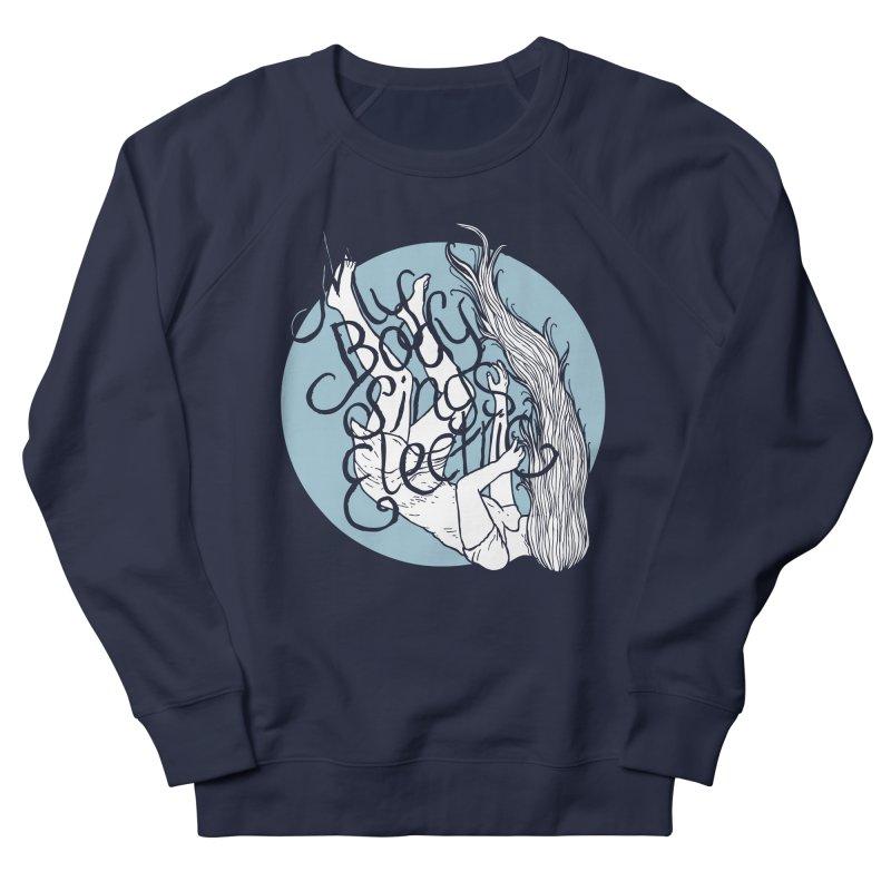 Falling For You (Blue) Women's French Terry Sweatshirt by My Body Sings Electric Merch   Shop Men, Women, an