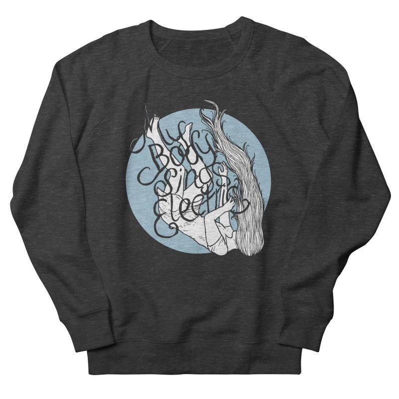 Falling For You (Blue) Men's French Terry Sweatshirt by My Body Sings Electric Merch   Shop Men, Women, an