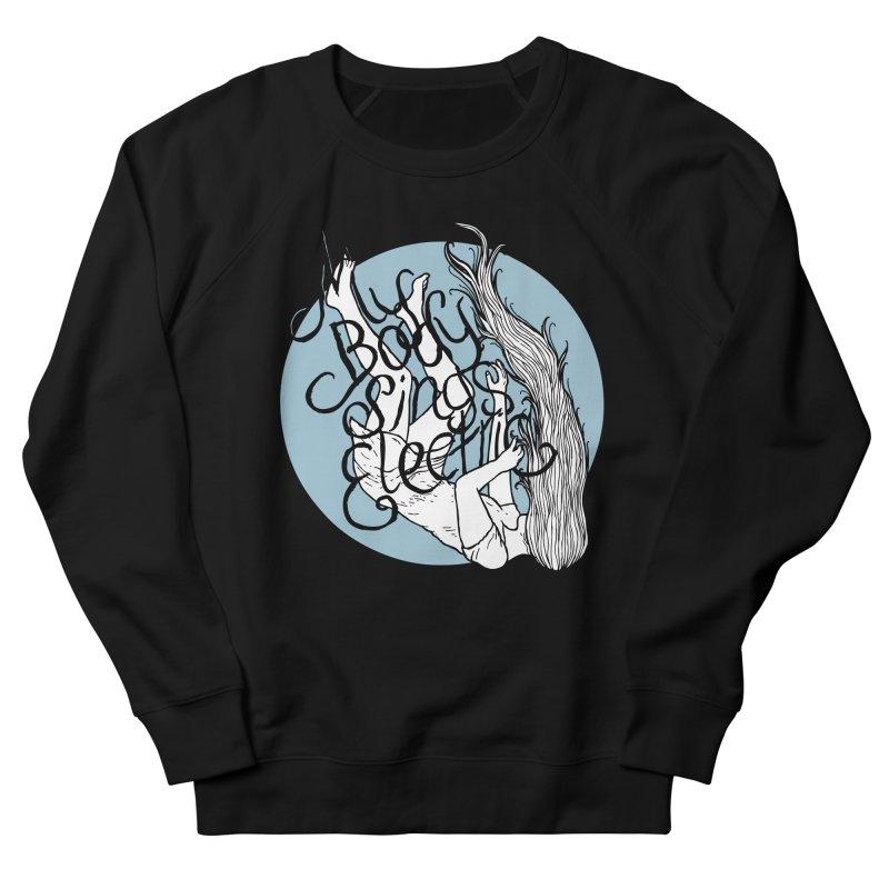 Falling For You (Blue) Men's French Terry Sweatshirt by My Body Sings Electric Merch | Shop Men, Women, an