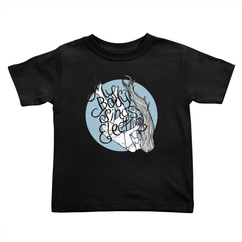Falling For You (Blue) Kids Toddler T-Shirt by My Body Sings Electric Merch | Shop Men, Women, an