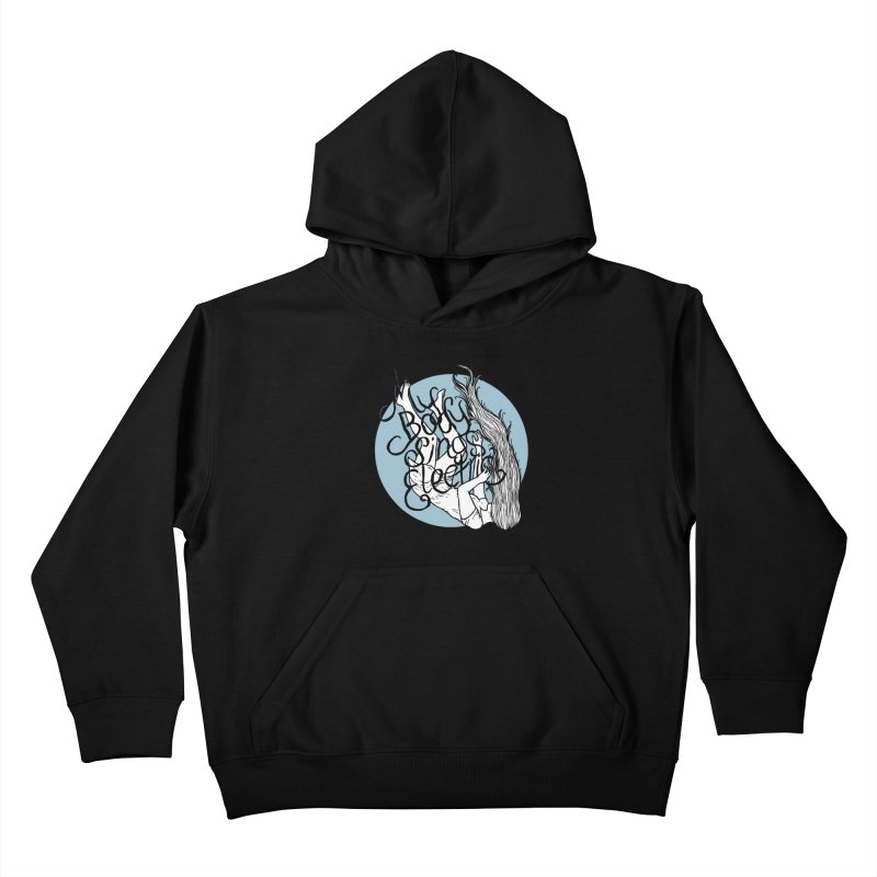 Falling For You (Blue) Kids Pullover Hoody by My Body Sings Electric Merch | Shop Men, Women, an