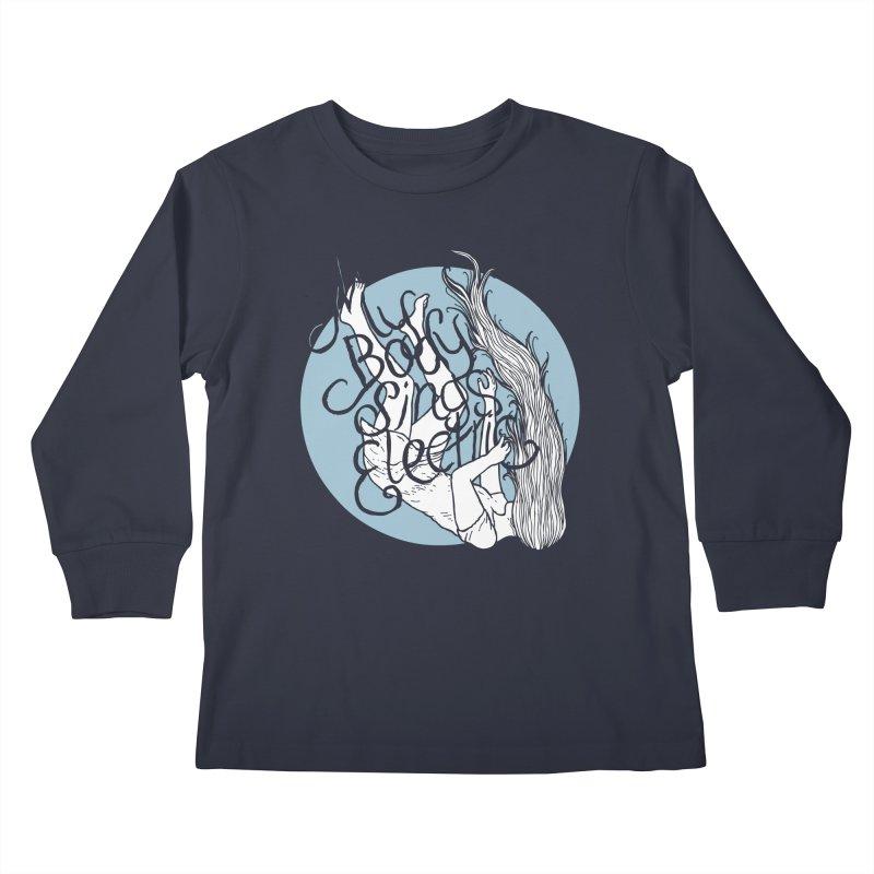Falling For You (Blue) Kids Longsleeve T-Shirt by My Body Sings Electric Merch | Shop Men, Women, an