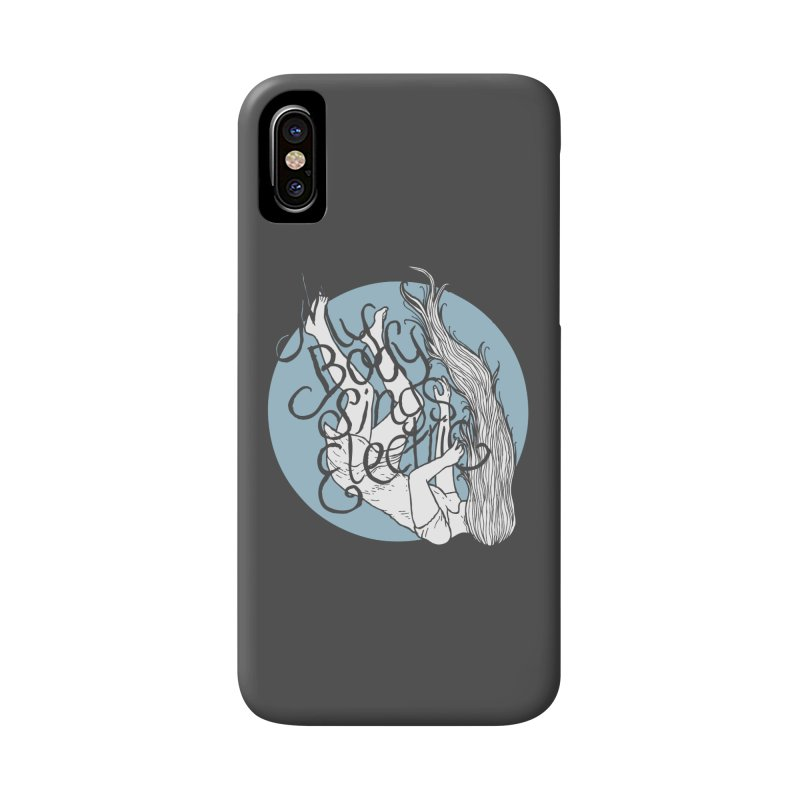 Falling For You (Blue) Accessories Phone Case by My Body Sings Electric Merch | Shop Men, Women, an