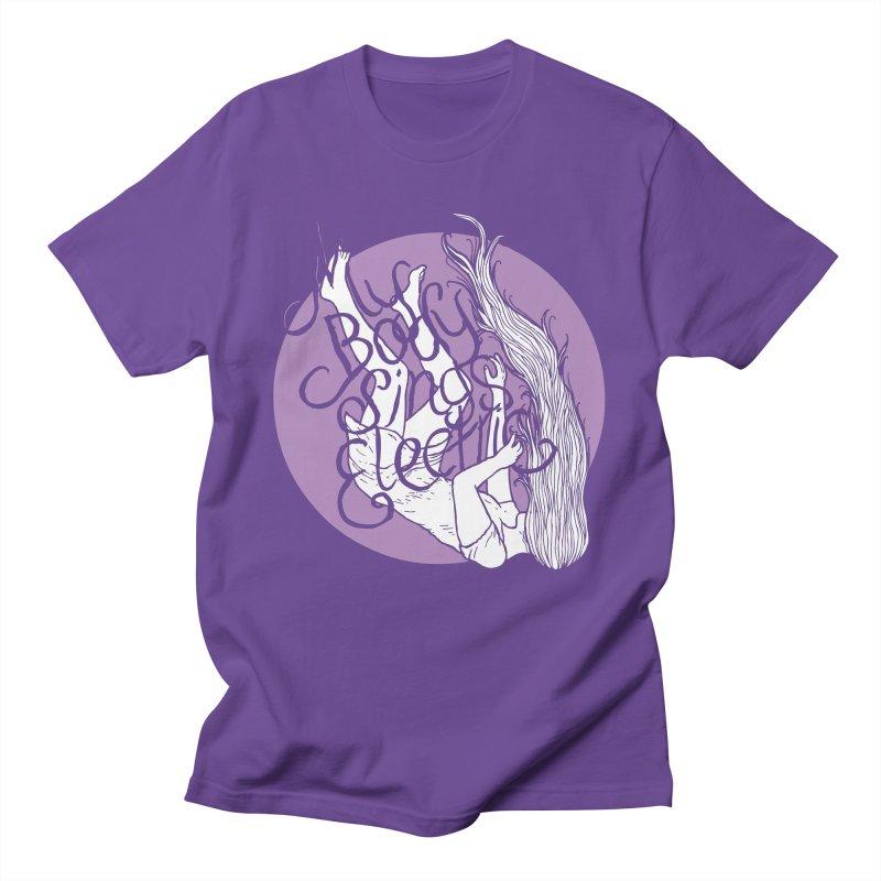 Falling For You (Purple) Men's T-Shirt by My Body Sings Electric Merch | Shop Men, Women, an