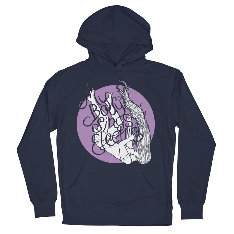Falling For You (Purple) Men's Pullover Hoody by My Body Sings Electric Merch | Shop Men, Women, an