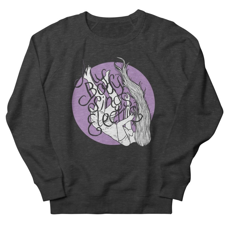 Falling For You (Purple) Women's Sweatshirt by My Body Sings Electric Merch | Shop Men, Women, an