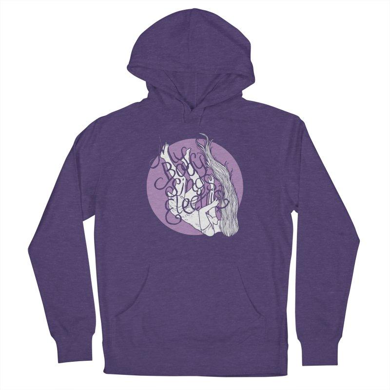 Falling For You (Purple) Women's Pullover Hoody by My Body Sings Electric Merch | Shop Men, Women, an