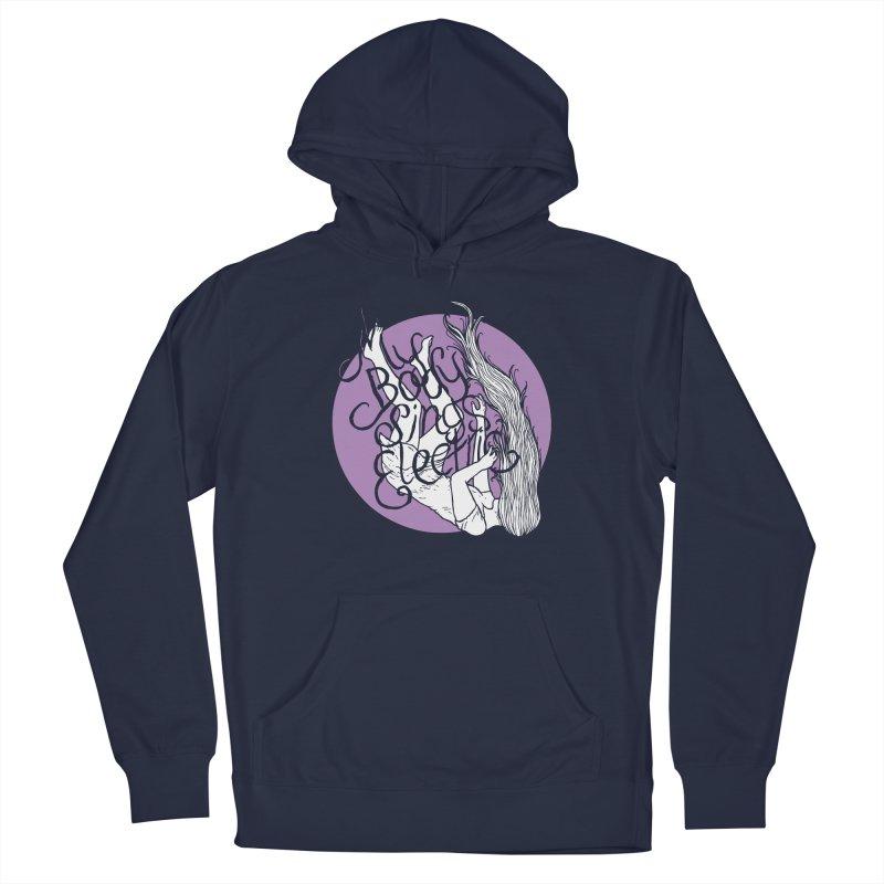 Falling For You (Purple) Men's Pullover Hoody by My Body Sings Electric Merch   Shop Men, Women, an