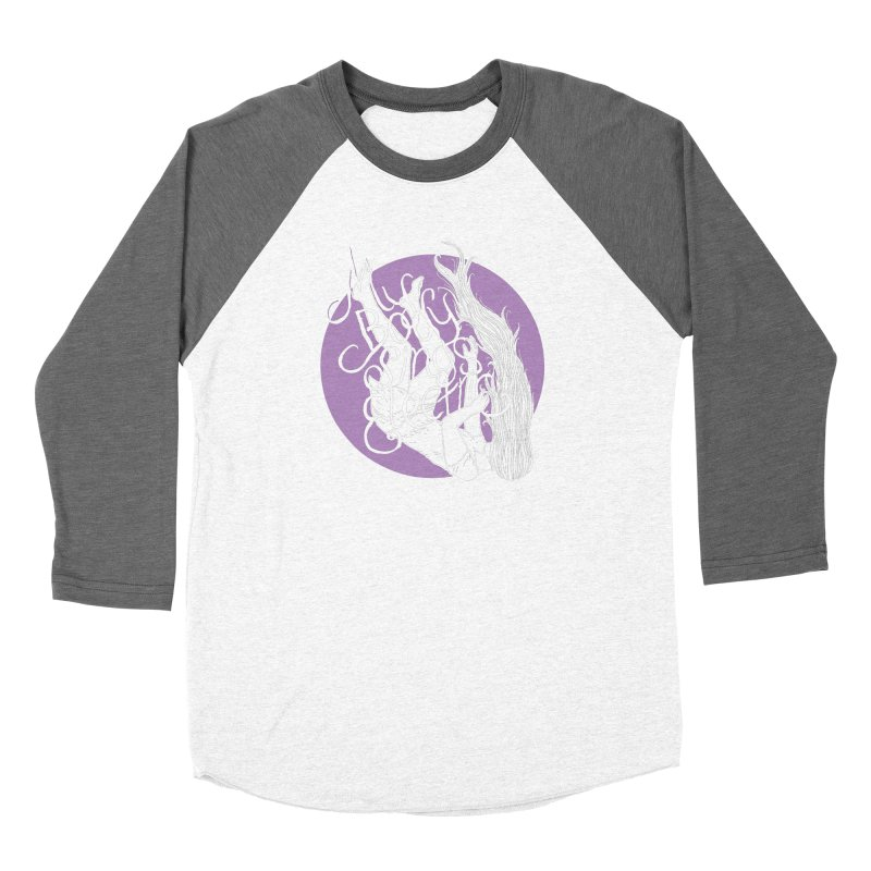 Falling For You (Purple) Women's Longsleeve T-Shirt by My Body Sings Electric Merch | Shop Men, Women, an