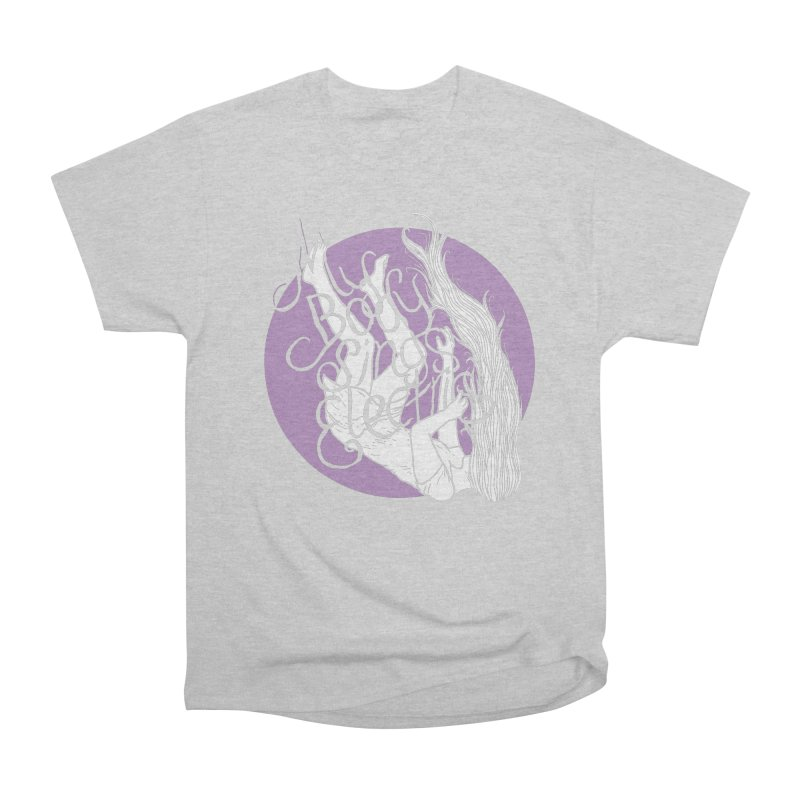 Falling For You (Purple) Men's Heavyweight T-Shirt by My Body Sings Electric Merch | Shop Men, Women, an