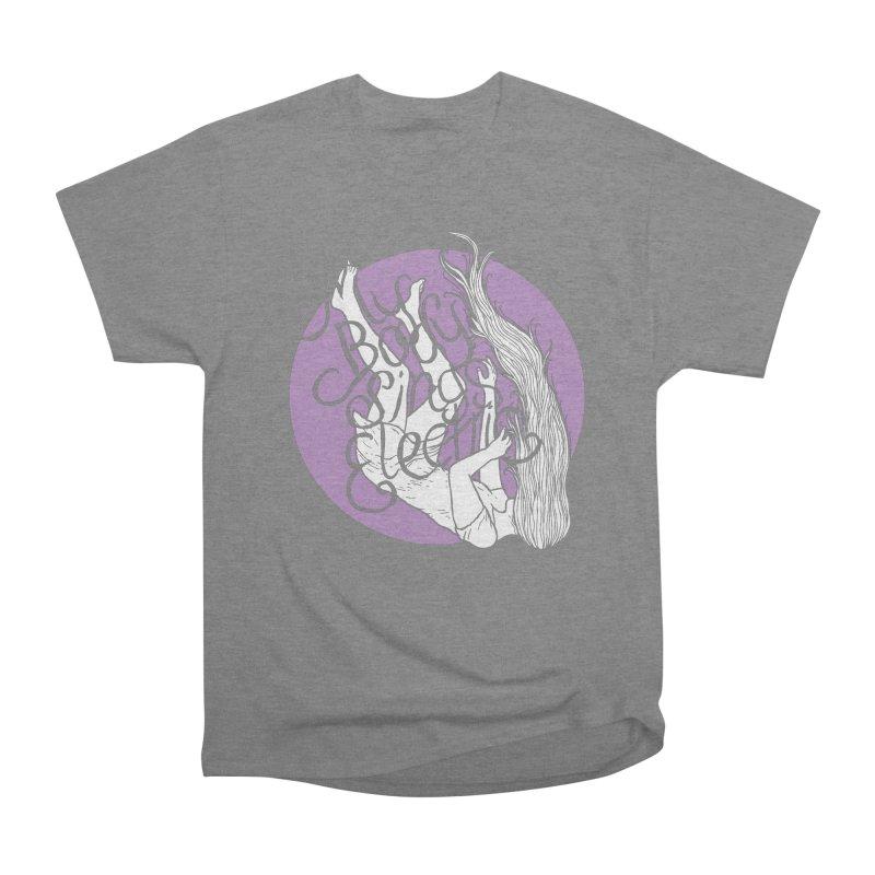 Falling For You (Purple) Men's T-Shirt by My Body Sings Electric Merch   Shop Men, Women, an
