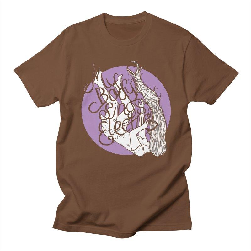 Falling For You (Purple) Women's Regular Unisex T-Shirt by My Body Sings Electric Merch   Shop Men, Women, an