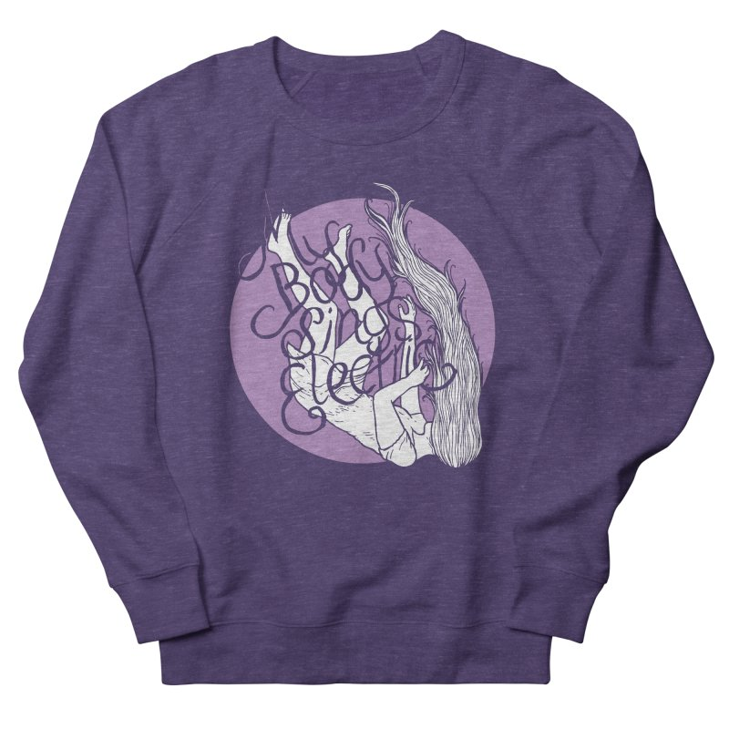Falling For You (Purple) Men's Sweatshirt by My Body Sings Electric Merch | Shop Men, Women, an