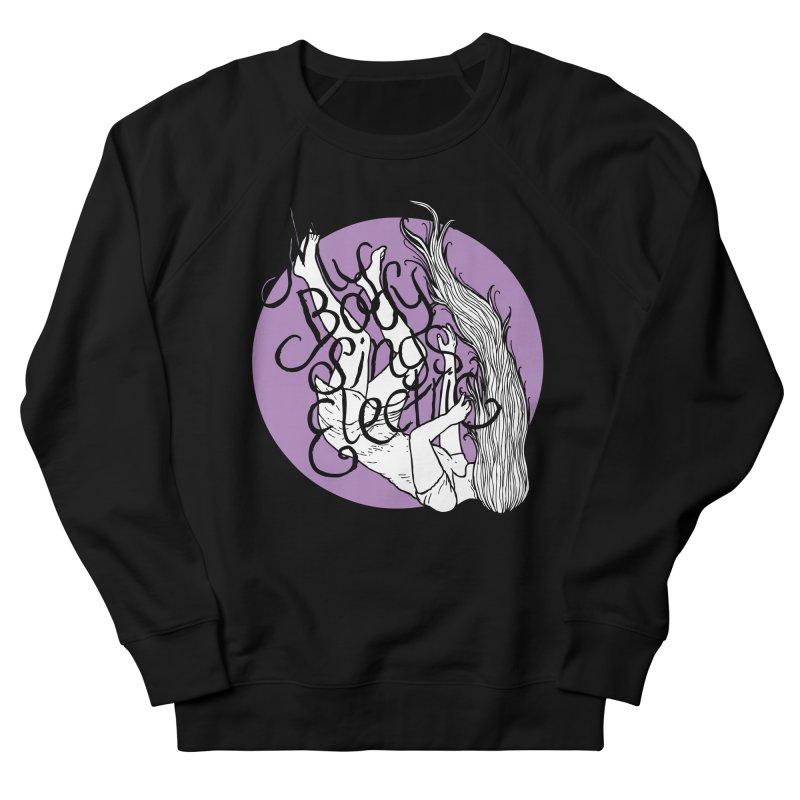 Falling For You (Purple) Men's French Terry Sweatshirt by My Body Sings Electric Merch | Shop Men, Women, an