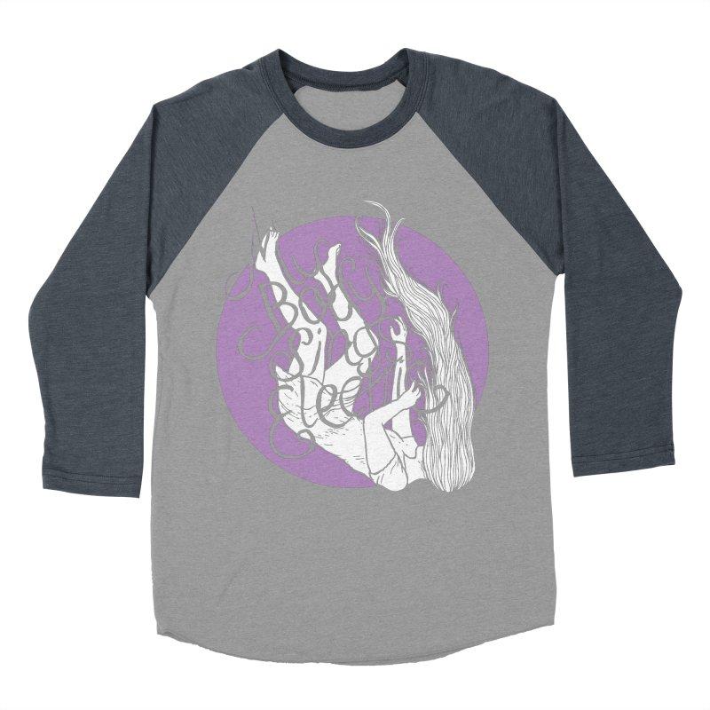 Falling For You (Purple) Women's Baseball Triblend Longsleeve T-Shirt by My Body Sings Electric Merch | Shop Men, Women, an