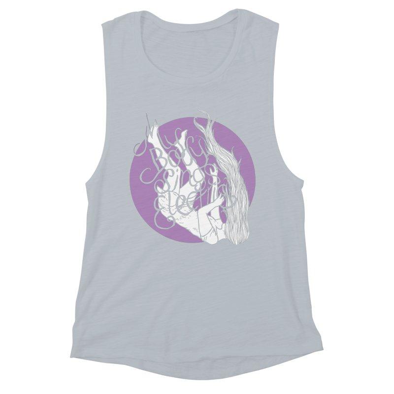 Falling For You (Purple) Women's Tank by My Body Sings Electric Merch | Shop Men, Women, an