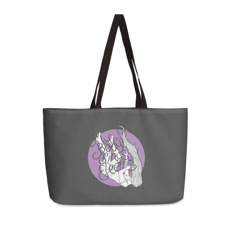 Falling For You (Purple) Accessories Weekender Bag Bag by My Body Sings Electric Merch | Shop Men, Women, an