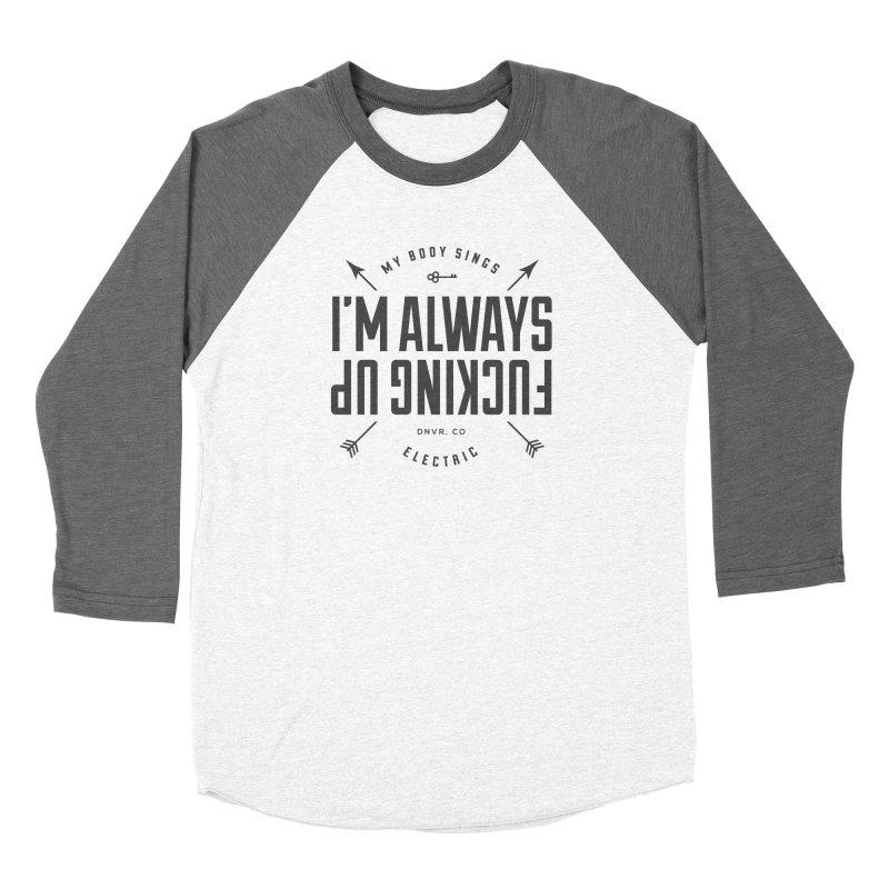 Clumsy Mess Women's Longsleeve T-Shirt by My Body Sings Electric Merch | Shop Men, Women, an