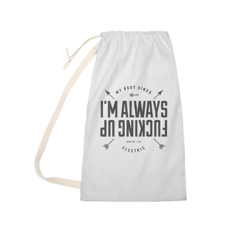 Clumsy Mess Accessories Bag by My Body Sings Electric Merch   Shop Men, Women, an