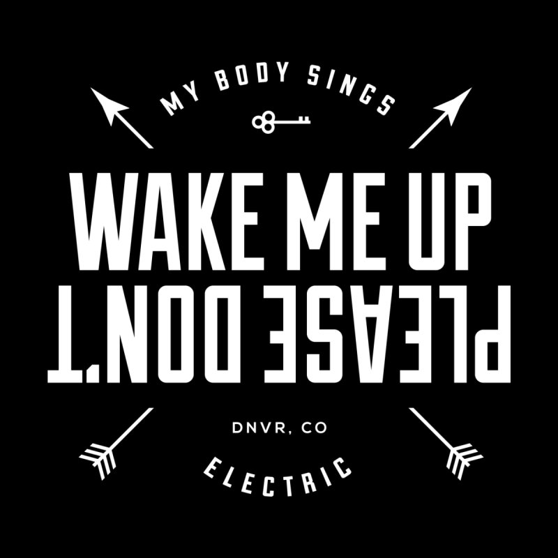 Sleepyhead Men's T-Shirt by My Body Sings Electric Merch | Shop Men, Women, an