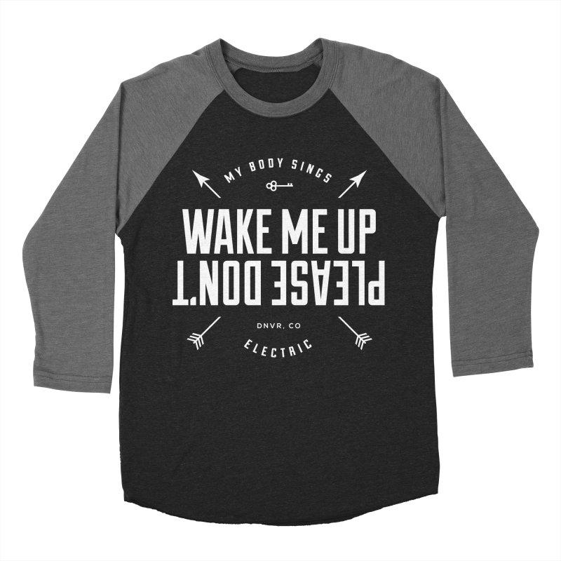 Sleepyhead Men's Baseball Triblend Longsleeve T-Shirt by My Body Sings Electric Merch | Shop Men, Women, an